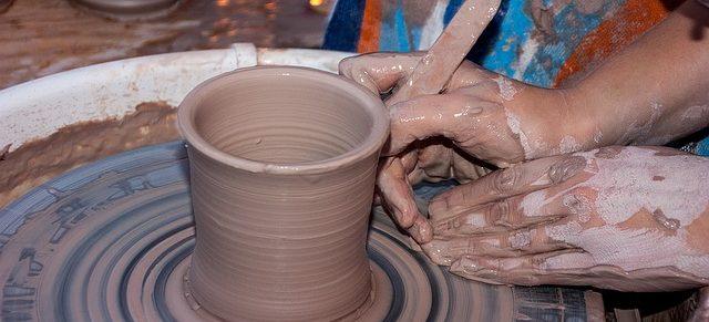 zrobione z gliny